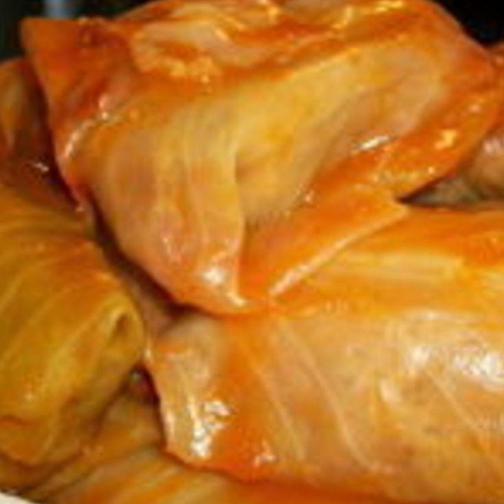 HALUPKI  (Slovak stuffed cabbage)