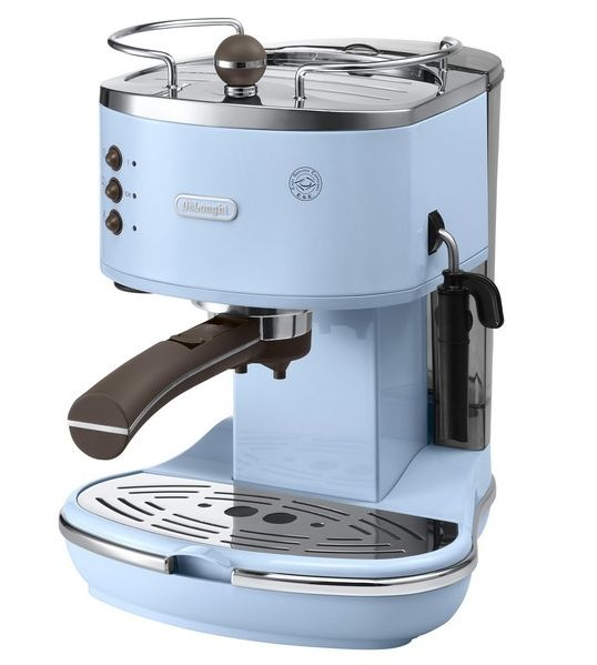 Myer - Delonghi ECOV310AZ Icona Vintage Espresso Coffee Maker Azure, $299.00
