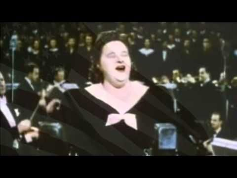 "Kate Smith...."" God Bless America""......World War II"