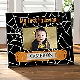 Personalized Baby's First Halloween Photo Frame