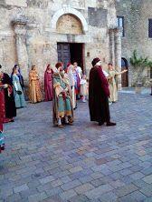 Foto di Anagni e la sfilata storica