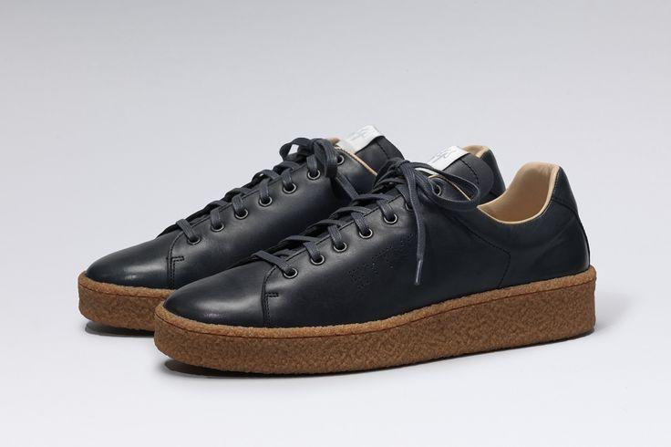 #Eytys Ace Leather Navy/Gum.