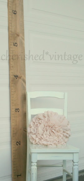giant ruler: Crafts Workroom, Crafts Rooms, Chairs, Cherish Vintage, Ruler Growth Charts, Kids Height, Giant Ruler, Wood Crafts, Kids Rooms