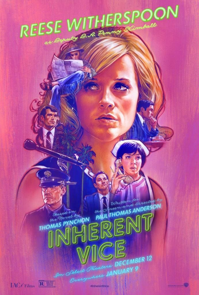 INHERENT VICE CHARACTER POSTER
