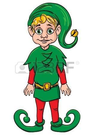 elf?s: Ayudante duende de Santa s, traje de vestido de verde