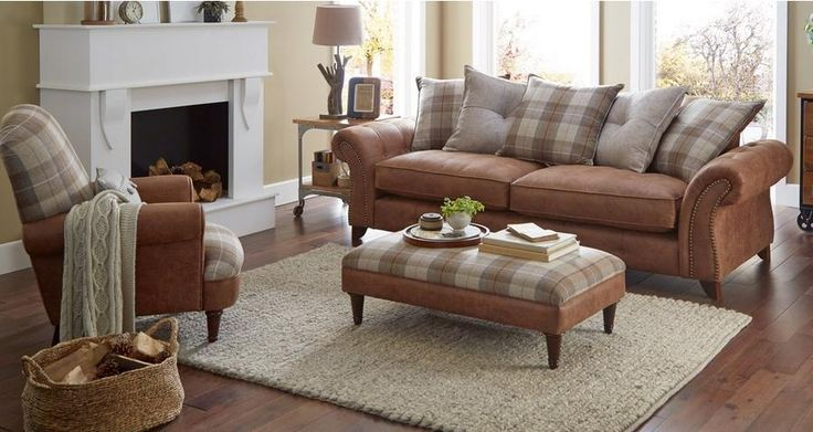 Goulding 4 Seater Pillow Back Sofa Oakland | DFS