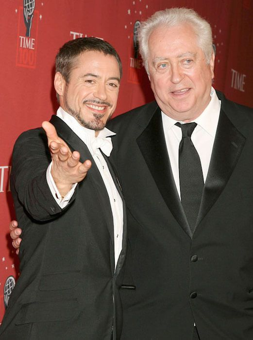 Robert Downey Sr. and Robert Downey Jr....