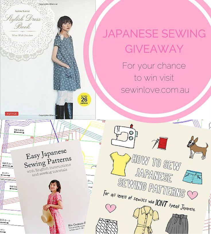 WIN – Stylish Dress Book + Japanese Sewing Ebook