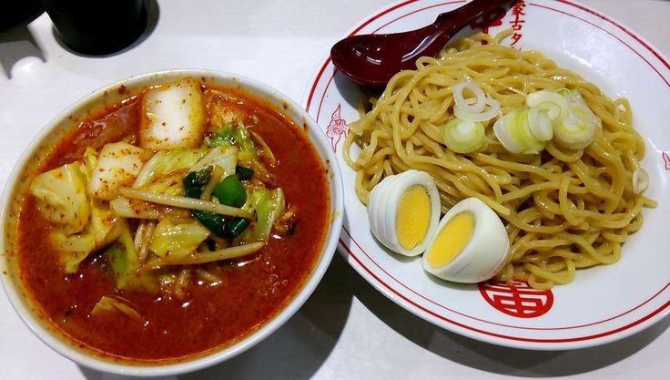 冷し味噌やさい + ゆで玉子(蒙古タンメン中本 東池袋店) | 以上、レポっす。