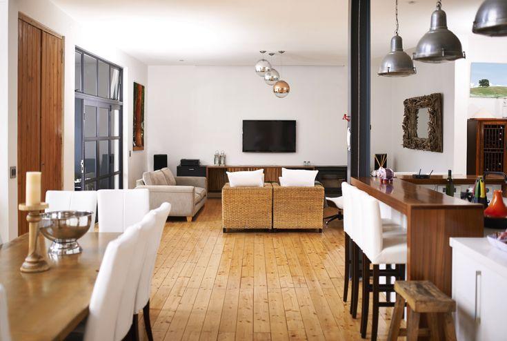 Open Concept Living Space Décor   Dunpar Homes