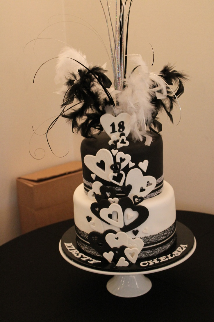 105 Best Images About 18th Birthday Cakes On Pinterest