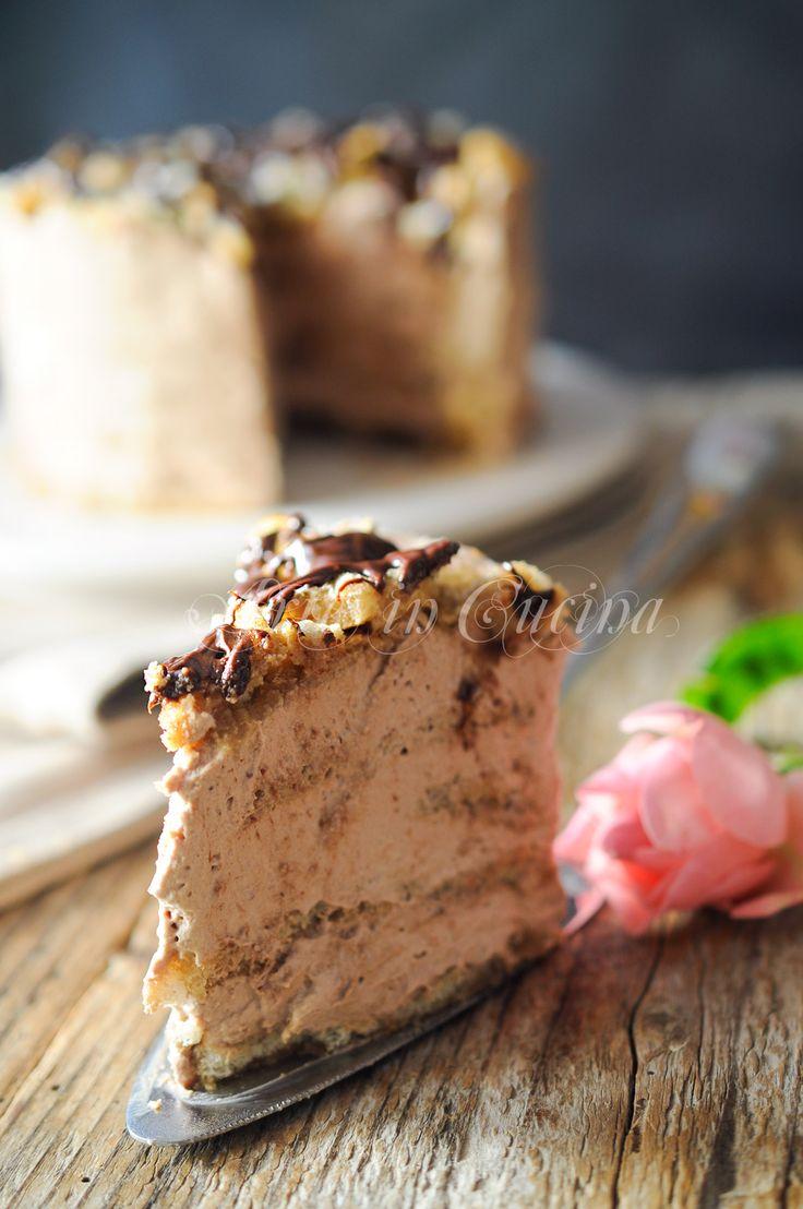 Sbriciolata con pavesini cioccolato e caffe vickyart arte in cucina