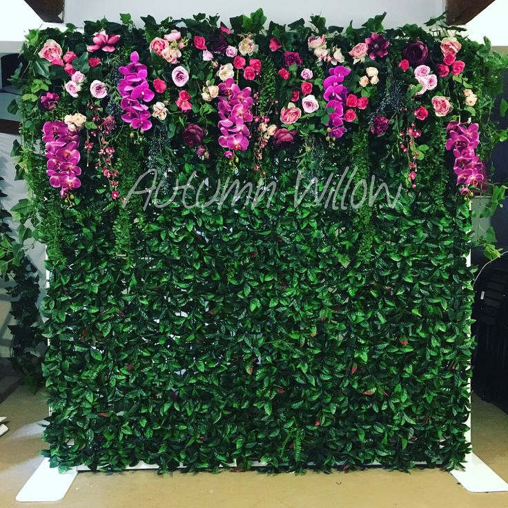 Our New Flower Wall Available To Hire Sydney Flower