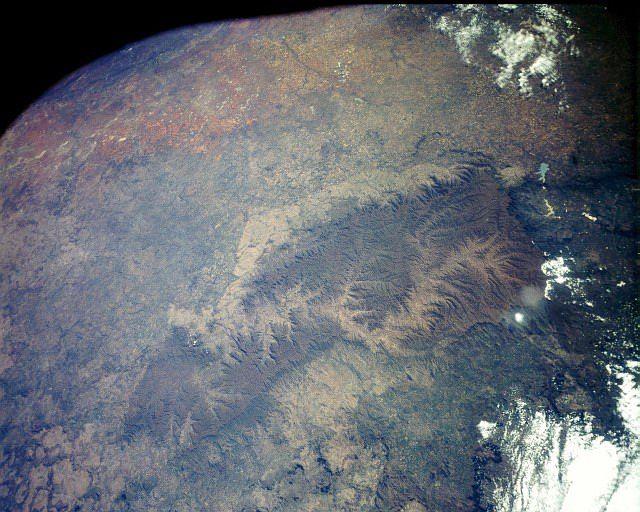 Drakensberg from space! http://www.n3gateway.com/the-n3-gateway-route/bushmans-river-tourism-association.htm