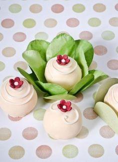 Flower Cake Balls