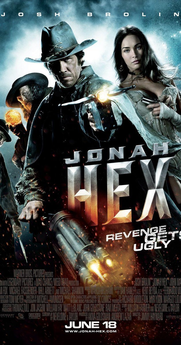 Directed by Jimmy Hayward.  With Josh Brolin, Megan Fox, John Malkovich, Michael Fassbender. The U.S. military makes a scarred bounty hunter with warrants on his own head an offer he cannot refuse: in exchange for his freedom, he must stop a terrorist who is ready to unleash Hell on Earth.