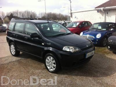 Honda HR-V 1.6 Litre Petrolfor sale in Dublin on DoneDeal