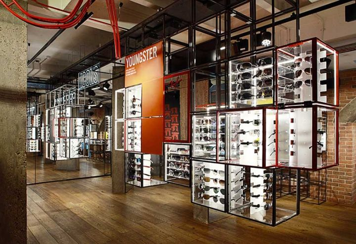 Ray Ban Concept Store At Covent Garden By Puresang London