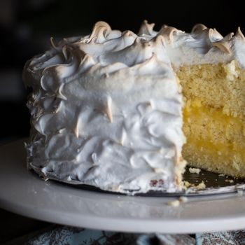 Image for Triple Layer Lemon Meringue Cake