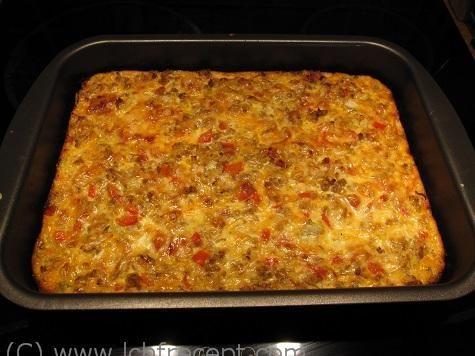 LCHF-Recept: Köttfärsgratäng med vitkål
