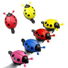 Colorful Kid Funny Lady Beetle Ladybug Cycling Bicycle Bike Ride Ring Bell Horn
