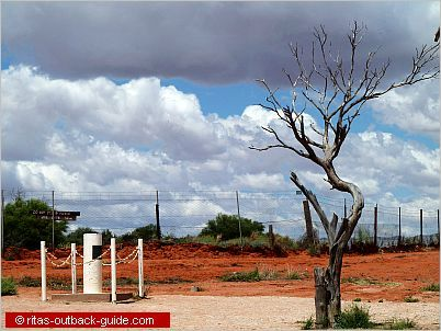 Cameron Corner - where three states meet in Outback Australia