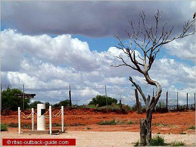 Cameron Corner - where three states meet in Outback Australia