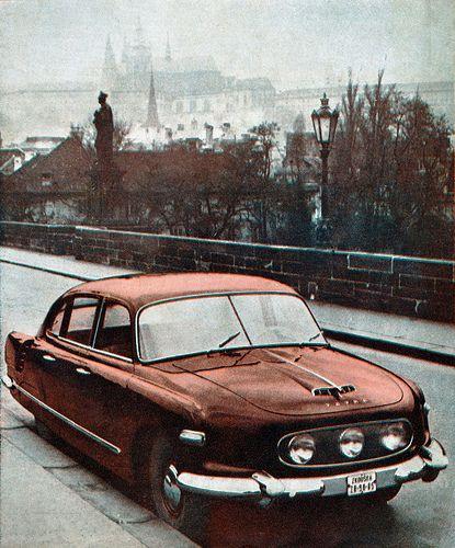 Prototype TATRA 603 | 1955, Prague, Czechoslovakia | TATRA 603 | Flickr