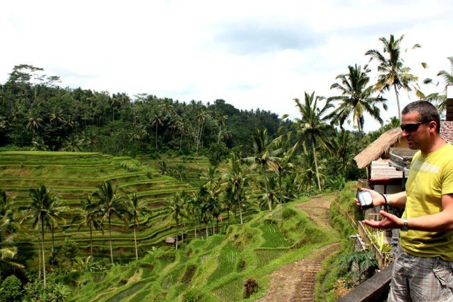 Ubud is a town on the island of Bali , Ubud is located amongst rice paddies and steep ravines in the central foothills of the Gianyar regency . One of Bali's major arts and culture centers , it has developed a large tourism industry . Ubud tourism focuses on culture ,Read the Rest...