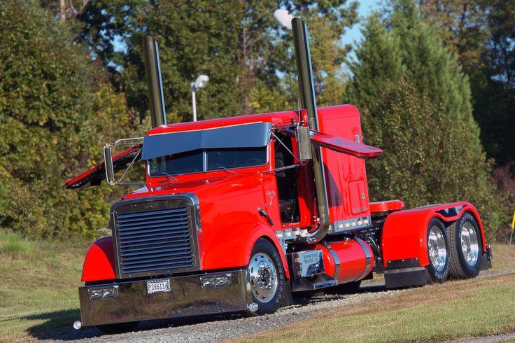 Custom Big Rigs | Обои freightliner, classic, big rig, truck, custom на ...
