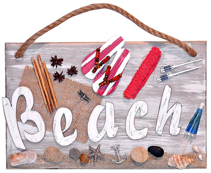 Beach wall art