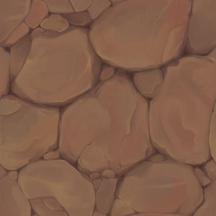 ArtStation - Rock Textures with Process, Becca Hallstedt