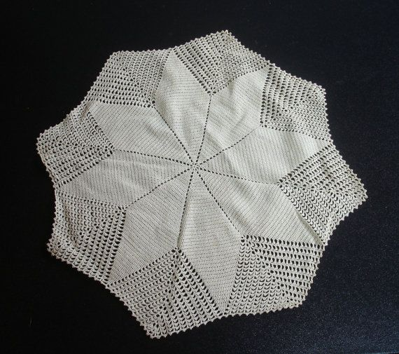 Large 8-Pointed Star Vintage Crocheted Doily via Etsy ...