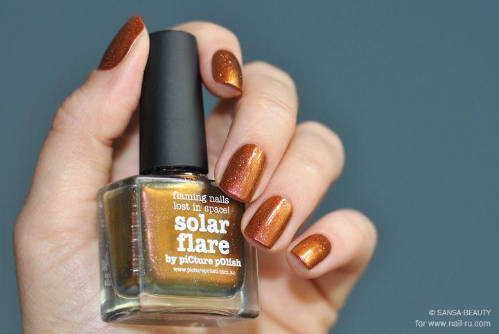 Picture Polish - Solar Flare