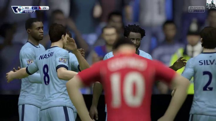 Fifa 15 Game Play||(Manchester City vs Liverpool)||PC