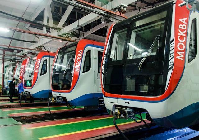 Транспортный блог Saroavto: Москва: Метрополитен приступил к эксплуатации сост...