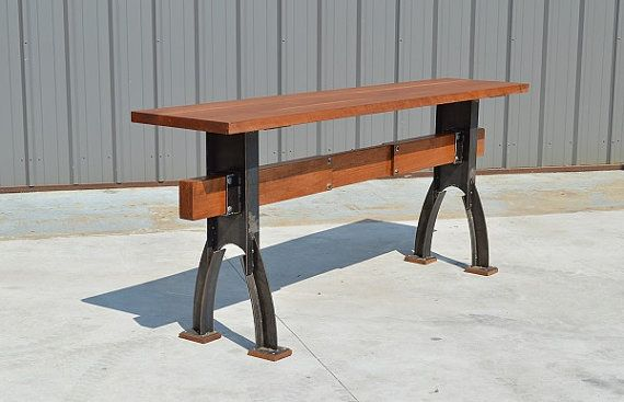 Hey, I found this really awesome Etsy listing at https://www.etsy.com/listing/193340912/modern-industrial-bar-console-or-sofa  The Industrial Farmhouse bar sofa table #industrialfarmhouse