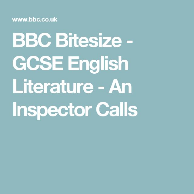 gcse english literature coursework inspector calls » gcse english literature (2017)fallibroome academy  course overview skills  j b priestley's an inspector calls the poetry anthology: students will study .