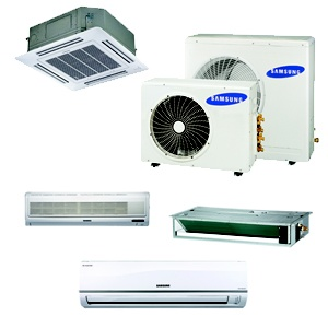 with the samsung 16 seer multi zone heat pump you can heat or cool up