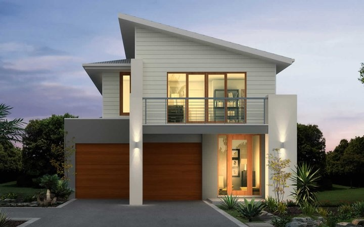 Metricon Home Designs: The Burleigh - Ascent Facade. Visit www.localbuilders.com.au/builders_nsw.htm to find your ideal home design in New South Wales