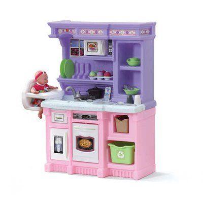 Step2 30 Piece Little Baker S Kitchen Set Kids Kitchen Play Kitchen Sets Toys For Girls