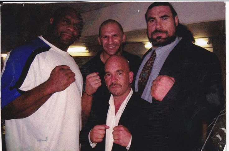 "http://www.rickbassman.com Press conference in Osaka, Japan, with Bob Sapp, Sam Greco and Sylvester ""Preador"" Terkay. — with Bob Sapp, Sam Greco and Sylvester Terkay."