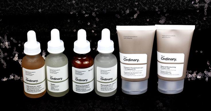 Skincare Blog Review The Ordinary