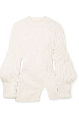 JACQUEMUS PABLO RIBBED SWEATER  http://rstyle.me/~adupG