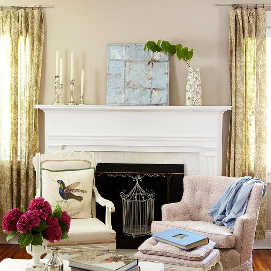 25 best Non-functioning fireplace fillers images on Pinterest ...