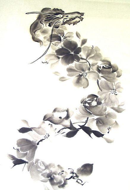 Flower Dragon 竜花