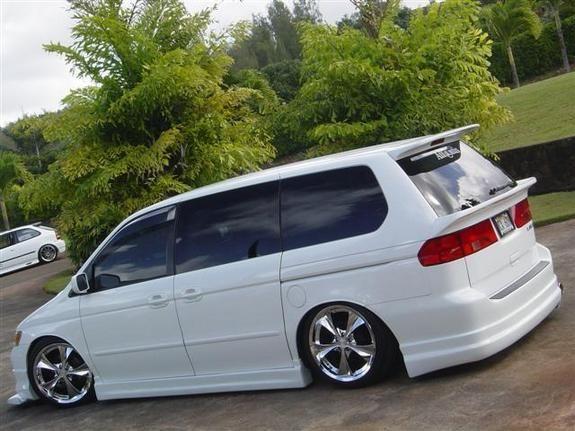 Custom Honda Odyssey Minivan 2000 Honda Odyssey