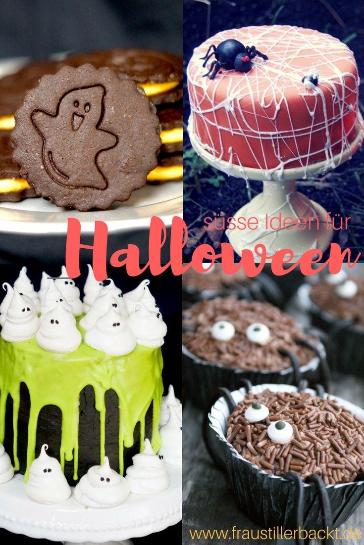 Halloween Inspiration Leckereien, Kuchen buffet und Bäckerei