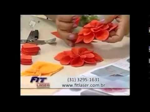 Passo a passo de: Fuxico, flores, moranguinhos, flor do fuxico e pétala boleada - YouTube
