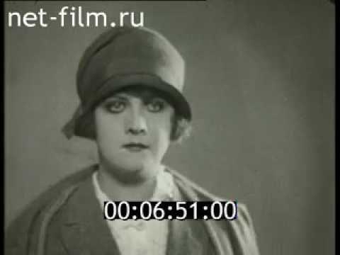 Немецкая мода начала XX в  (1910 - 1919)   Раритетные кинокадры